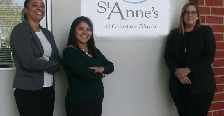 Crucial Services Expand with St. Anne's at Crenshaw District