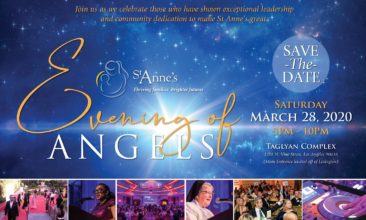 Save the Date -  St. Anne's Evening of Angels 2020