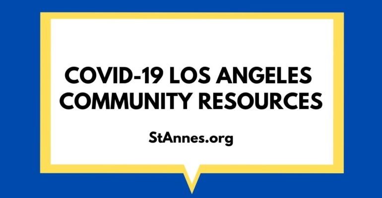 COVID-19 Los Angeles Community Resources 1